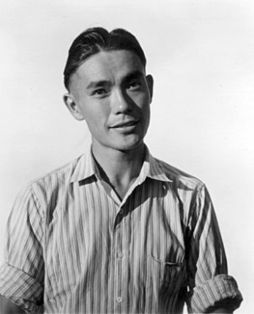 """In 1942, Togo W. Tanaka and his family were evacuated to Manzanar internment camp, where his """"rich daily accounts of everyday life"""" and his unflinching support of the United States """"got him into a lot of trouble,"""" historians say."""