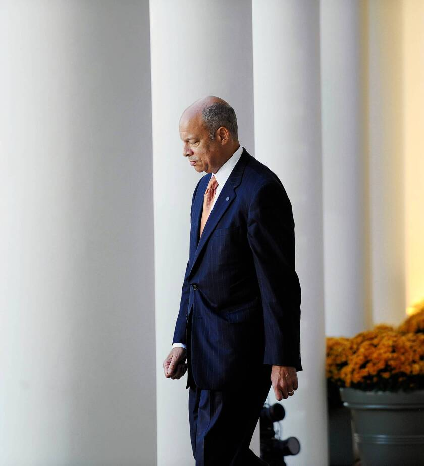 As general counsel of the Defense Department, Jeh Johnson recommended that President Obama seek congressional approval for U.S. military intervention in Libya in 2011. Obama declined, but the move won respect for Johnson among GOP lawmakers. He is now nominated to become the fourth secretary of Homeland Security.