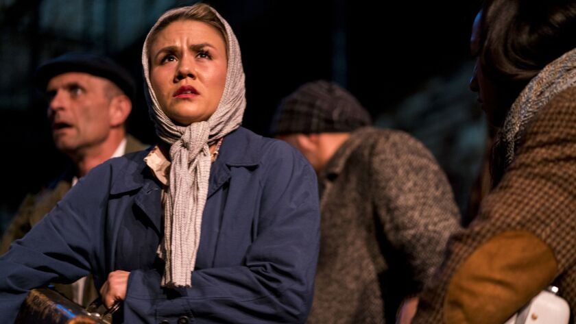 """The Actors' Gang production of """"The New Colossus"""" combines the experiences of immigrants from different countries, all trying to find a better life in the States."""