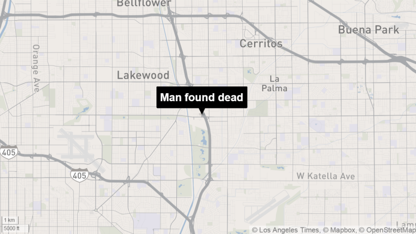 Man found dead in Lakewood