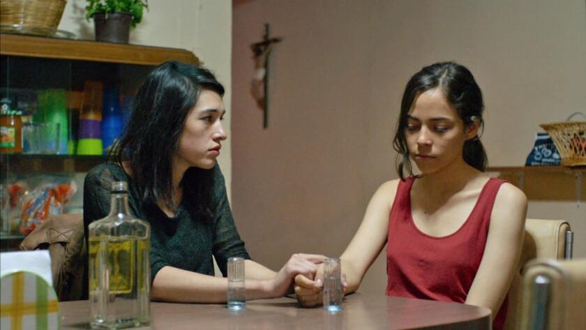 "Simone Bucio, left, and Ruth Ramos in the film ""The Untamed."""