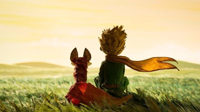 """A still from the film """"The Little Prince."""""""