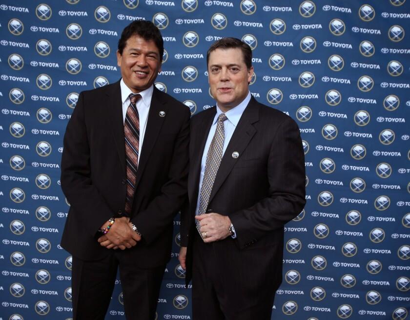 Back to the future: Buffalo Sabres hire LaFontaine, Nolan to run team