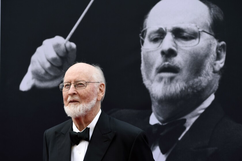 Composer John Williams at the 2016 AFI Life Achievement Award Gala Tribute at the Dolby Theatre in Hollywood on June 9.
