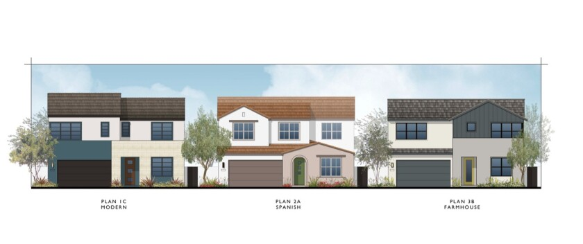 """The CV planning board approved of Pardee Homes' new design scheme for """"Unit 22 B"""" or Sendero Collection."""