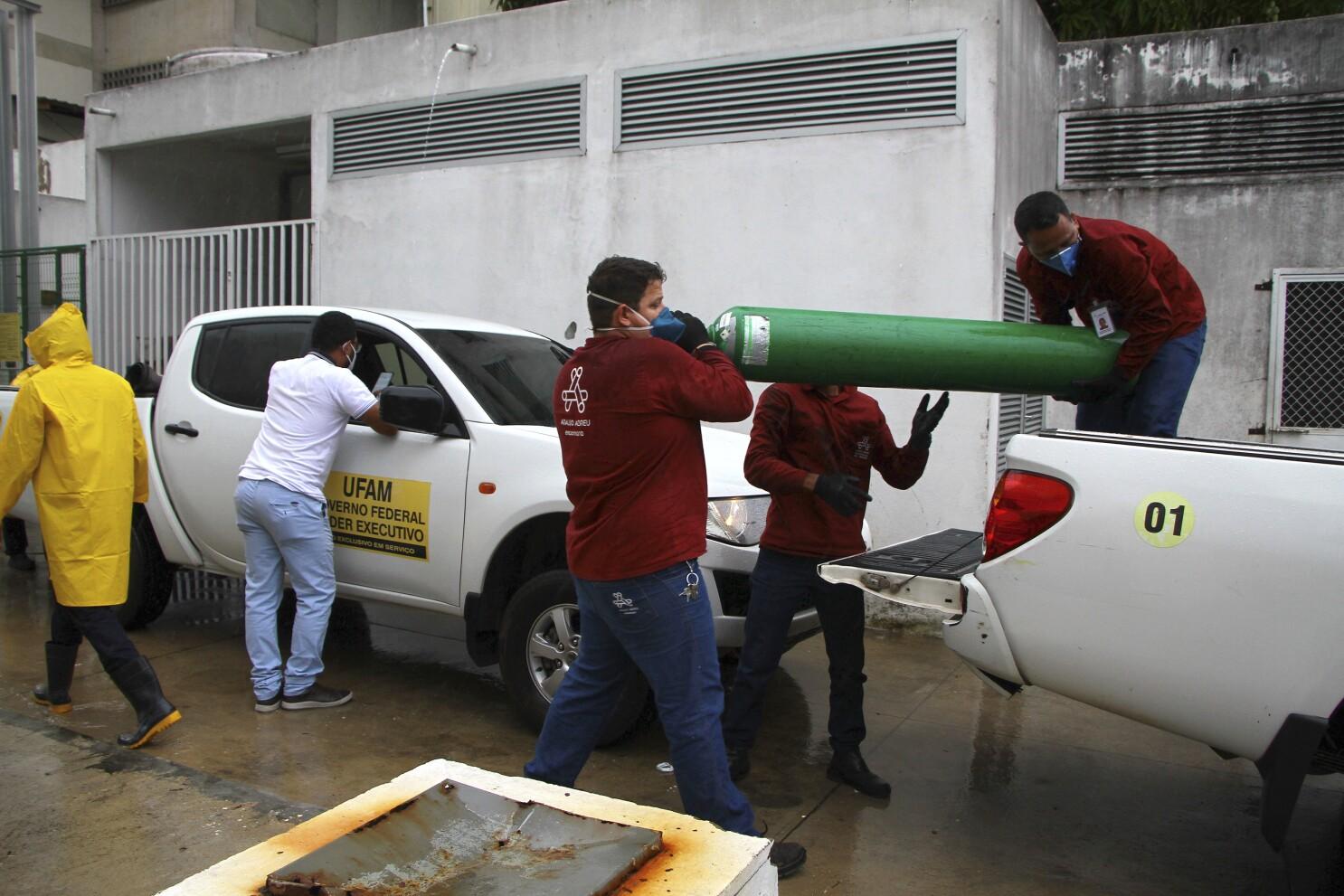 Brasil: Transfieren a pacientes de COVID al escasear oxígeno - San Diego  Union-Tribune en Español