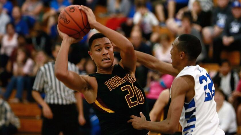 Torrey Pines senior Ethan Esposito led the Falcons to a pair of wins.