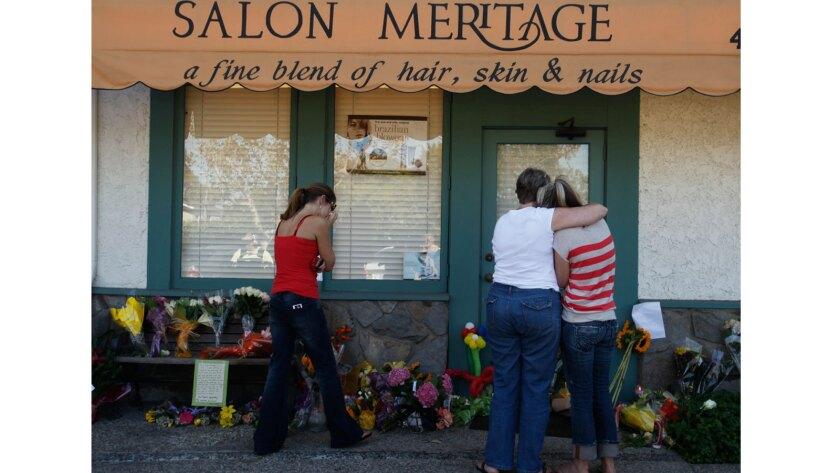 Shootings at Seal Beach salon