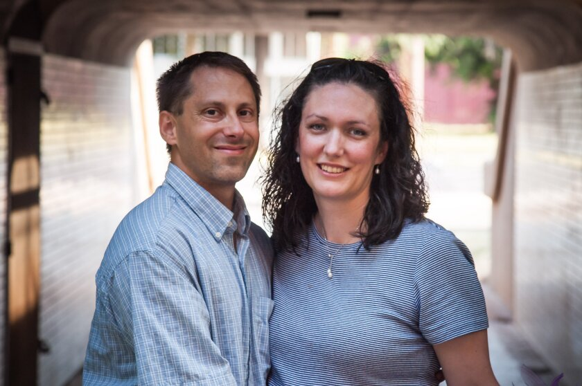 Capt. Jonathan Golden of Camarillo, pictured with his wife Danielle, was among six Air Force personnel killed in a C-130 crash in Afghanistan.
