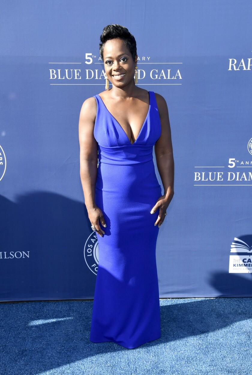 5th Anniversary Los Angeles Dodgers Foundation Blue Diamond Gala - Blue Carpet