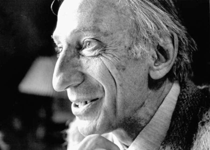 The late social critic Ivan Illich, shown in 1986, was a friend of California Gov. Jerry Brown's. lllich, who railed against institutionalized education, the prevalence of automobiles and modern medicine, apparently looms large in the governor's thinking.