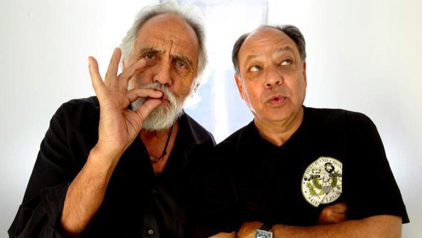 Cheech Marin and Tommy Chong, aka Cheech and Chong will perform on the final day of KAABOO 2016. (Robert Gauthier/Los Angeles Times)