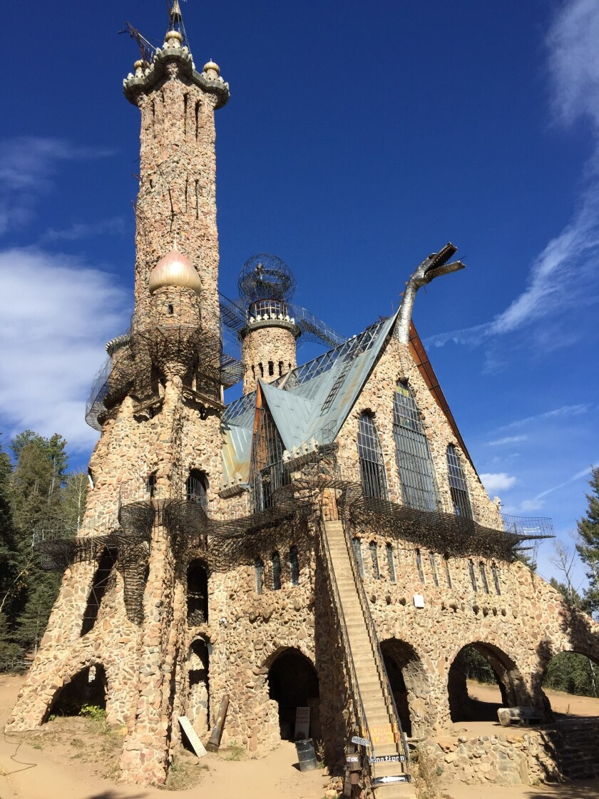 Colorado castle is one man's hand-built monument to freedom