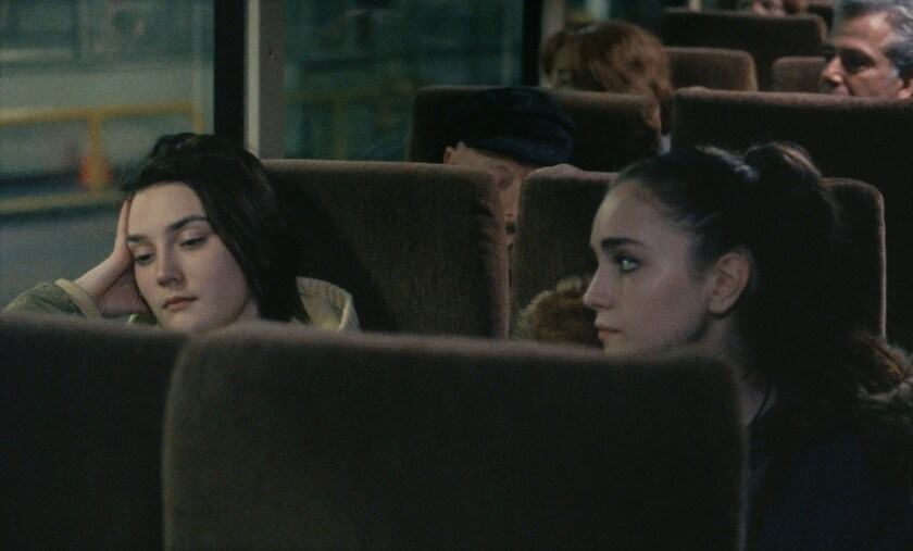 """Sidney Flanigan, left,  and Talia Ryder star in """"Never Rarely Sometimes Always."""""""