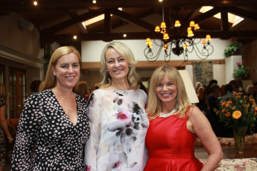 Jewel Ball 2016 co-chair Kelley Albence, chair Kathryn Gayner and co-chair Maureen Weber