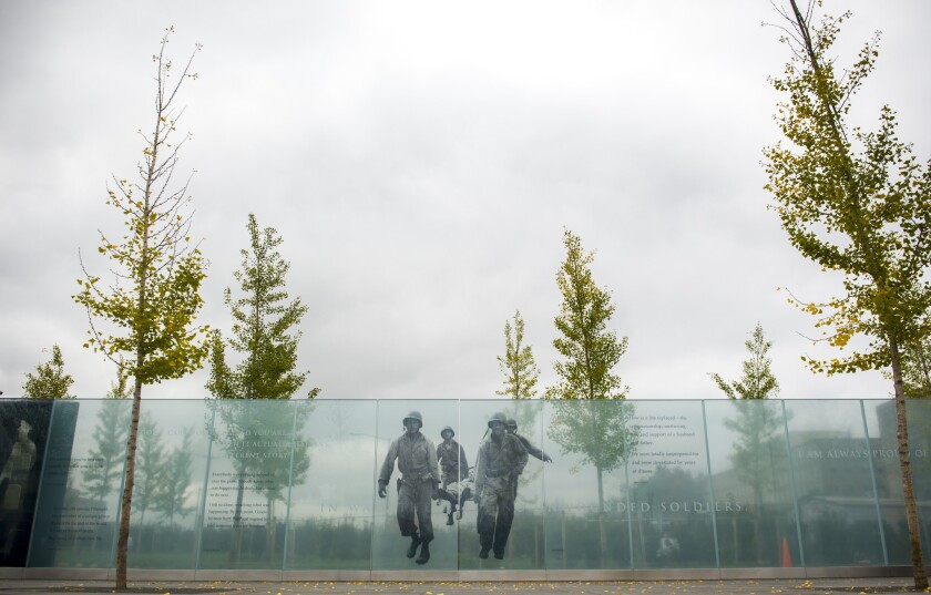The Americans Disabled for Life Memorial, located near the capitol in Washington, DC., opened last October.
