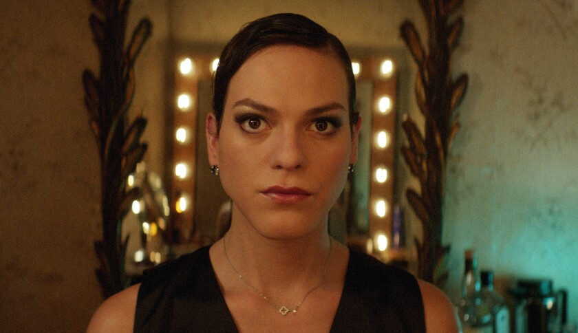 """This image released by Sony Pictures Classics shows Daniela Vega in a scene from, """"A Fantastic Woman"""