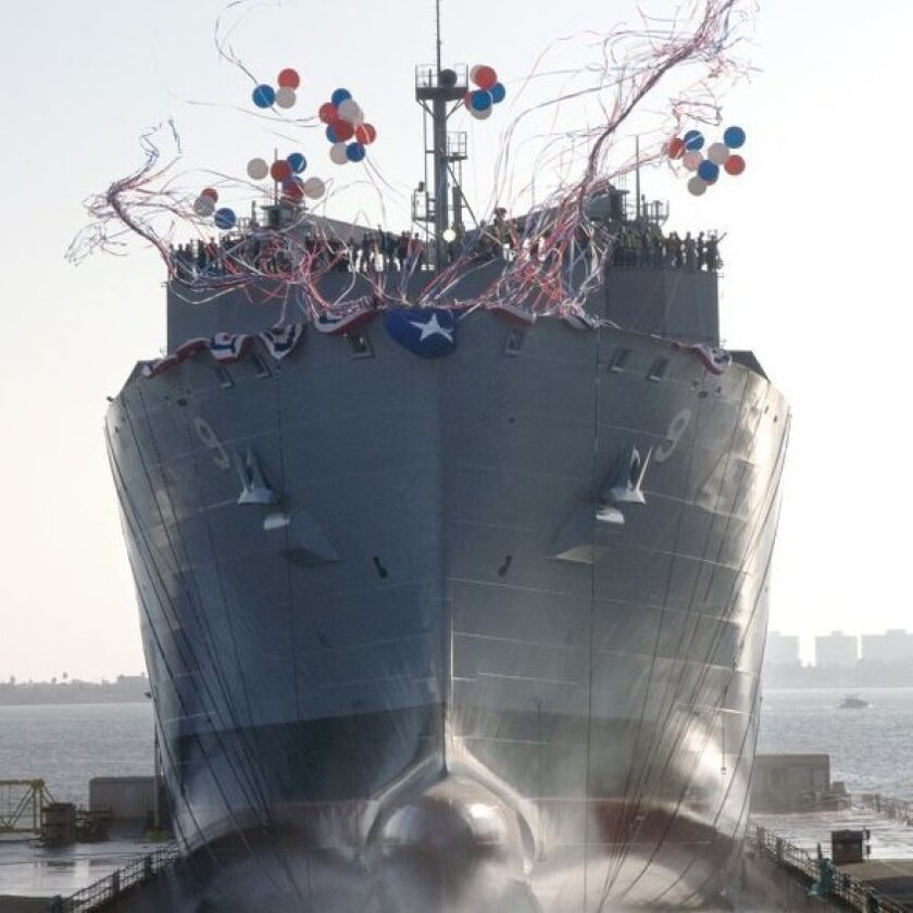 General Dynamics/NASSCO launched the dry cargo ammunition ship USNS Matthew Perry in May 2009.