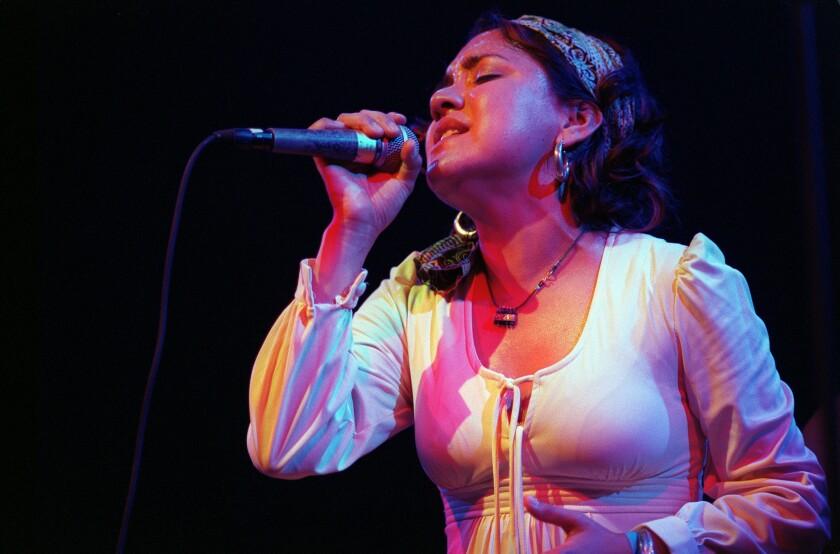 Martha Gonzalez, with Quetzal in 2002.