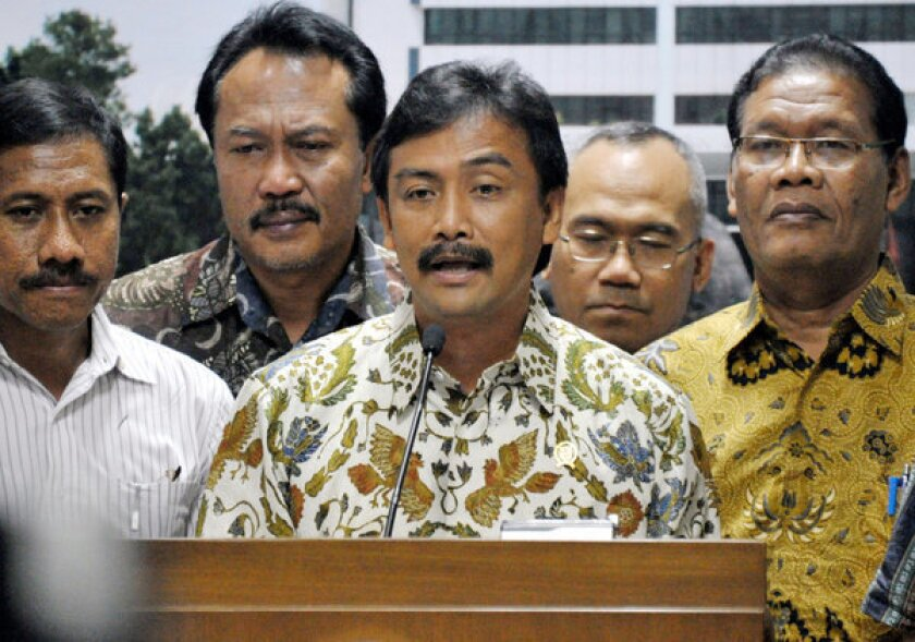 Indonesian official resigns over corruption inquiry