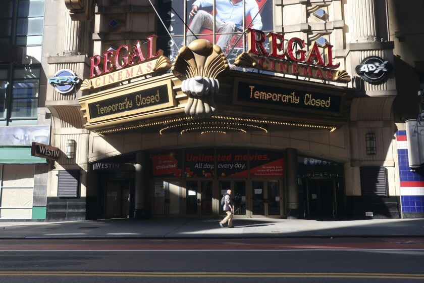 Q A Cineworld Ceo On Re Opening Regal Theaters In U S The San Diego Union Tribune