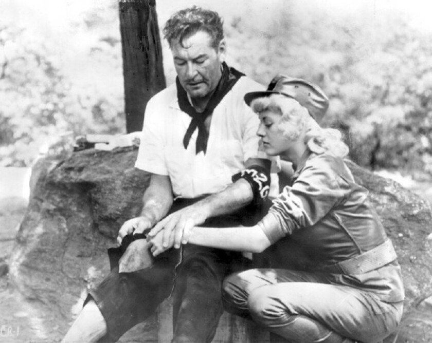 """Beverly Fisher, then named Beverly Aadland, costarred with Errol Flynn in his last film, 1959's """"Cuban Rebel Girls."""""""