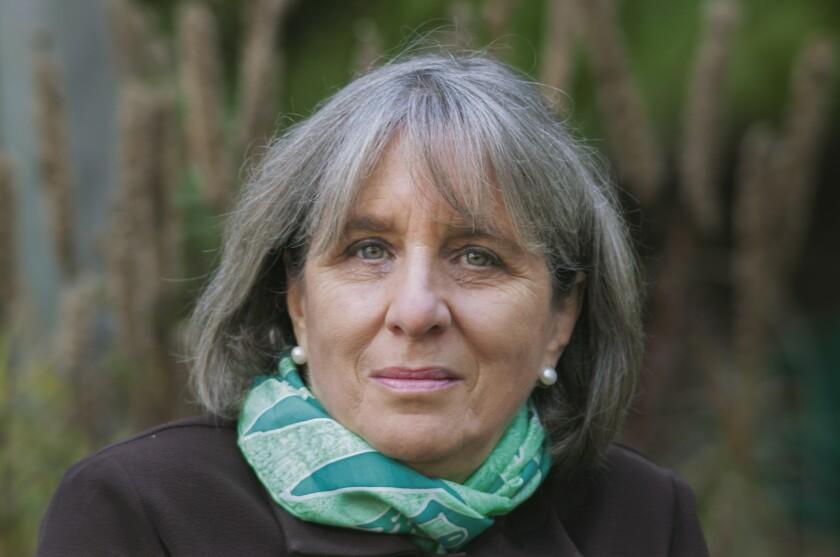 Author Mary Gordon.