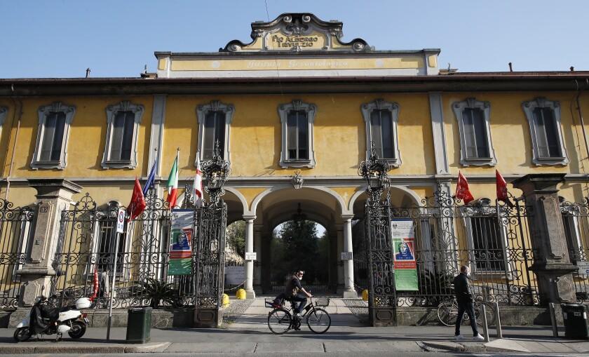 Virus Outbreak Italy Nursing Home