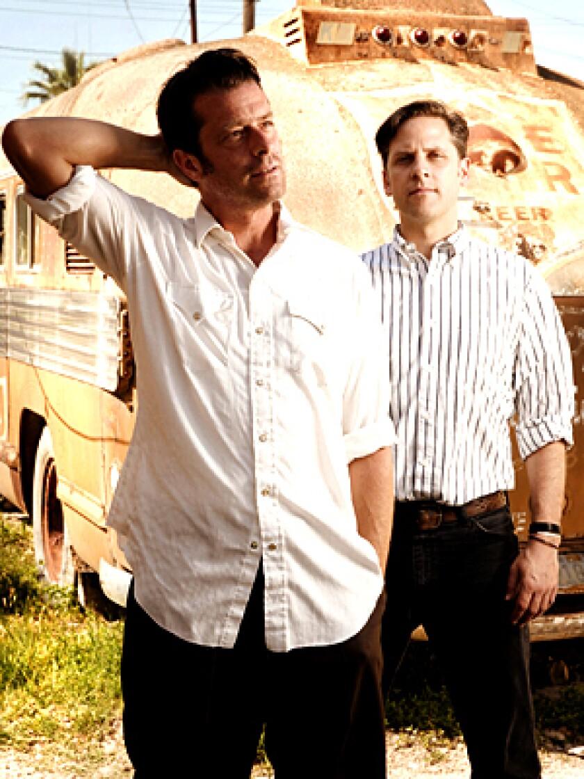John Convertino, left, and Joey Burns