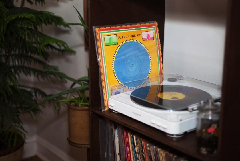 A vinyl collection