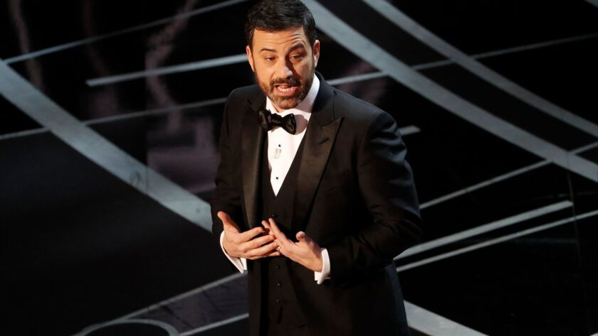 Jimmy Kimmel hosted last year's Oscars as well.