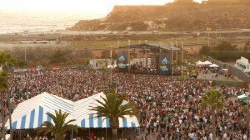 The crowds swell during a 2012 performance by Ziggy Marley, who is slated to perform again this year in Del Mar at Reggae Fest on Aug. 31. Courtesy photo