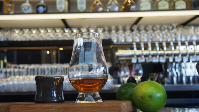 The Patio on Goldfinch general manager Chris Simmons has launched an in-house tequila aging program called The Tequila Ocho Project.