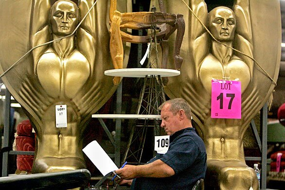 Hollywood props auction