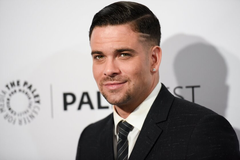 Mark Salling arrives at the Paleyfest at the Dolby Theatre in Los Angeles on March 13.