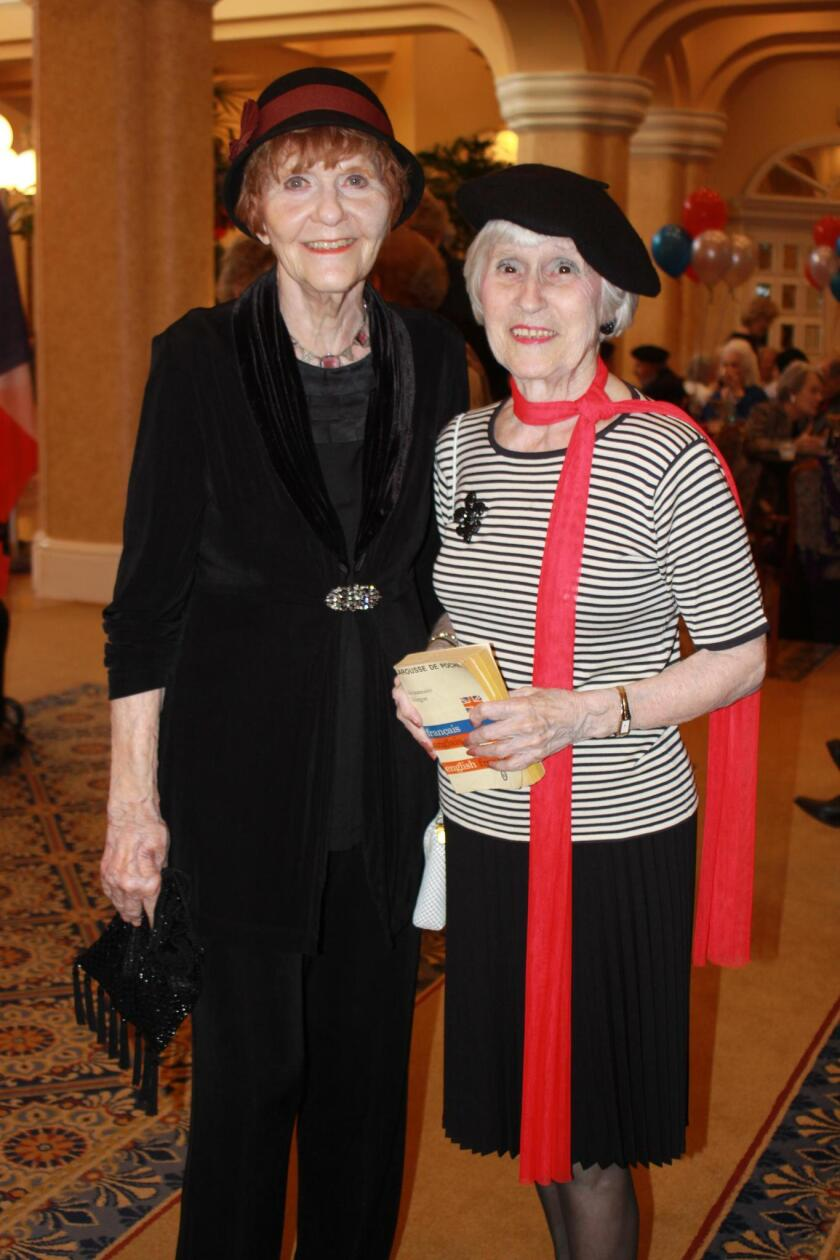 Fashionable Francophiles Janet Keena and Dawn Shulman