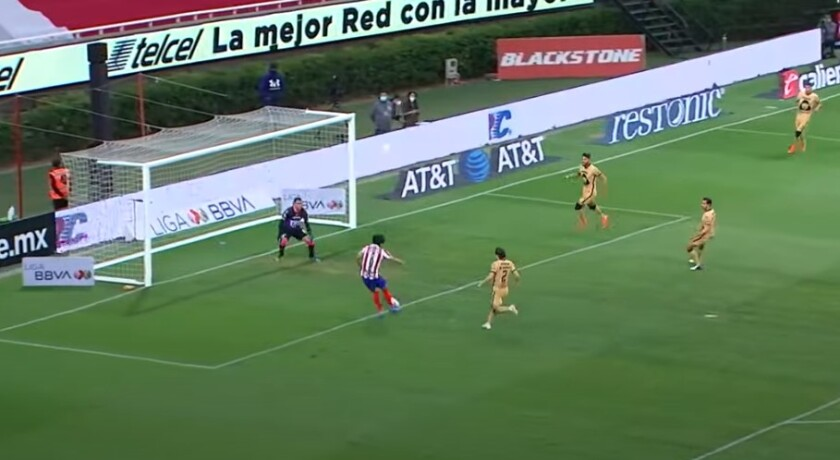 Chivas vs. Pumas.
