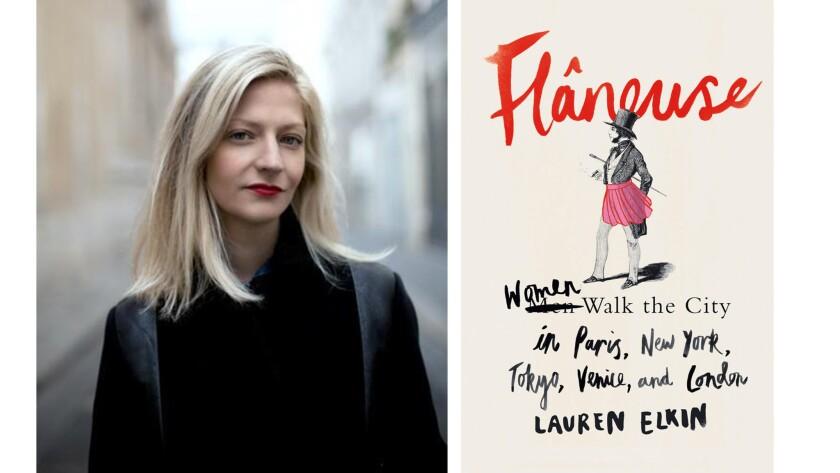 """Lauren Elkin and """"Flaneuse."""""""