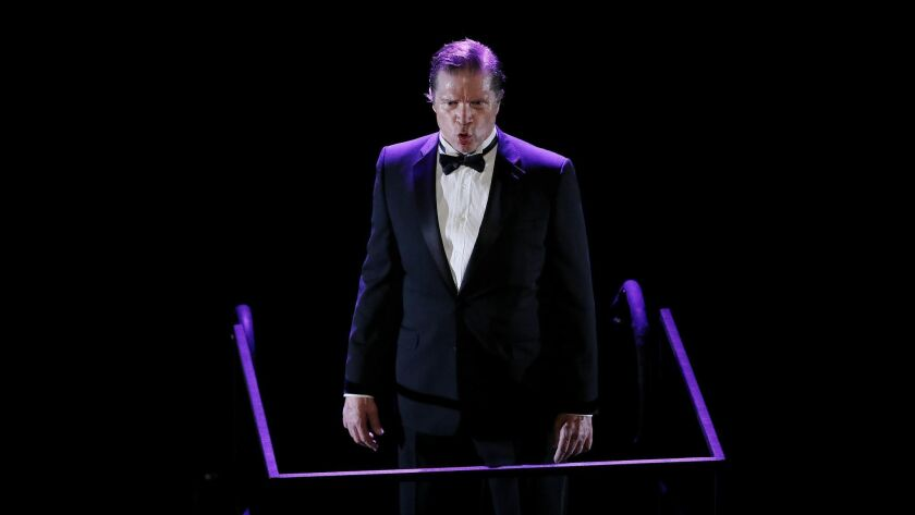 "LOS ANGELES, CALIF. -- THURSDAY, FEBRUARY 21, 2019: LA Opera Off Grand presents ""the loser,"" by comp"