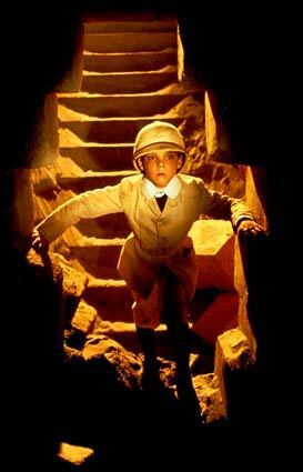 """For George Lucas, the Indiana Jones adventure goes on and on. Sure, there's the coming feature film, but he has also been at work repackaging and enhancing his early-1990s television series, """"The Young Indiana Jones Chronicles,"""" in which Corey Carrier played Indy at age 9."""