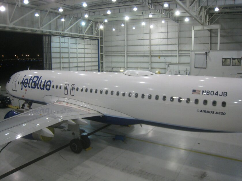 Jet Blue retrofit its planes with Viasat equipment for fast in-flight Wi-Fi. The airline recently ordered an additional 70 planes equipped with Viasat's antenna to enable on-board satellite Wi-Fi services, which JetBlue offers passengers at no charge.