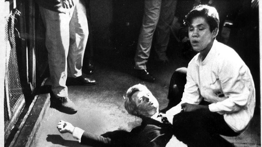 Must Reads: The busboy who tried to help a wounded Robert F. Kennedy in 1968 dies. His life was haunted by the violence