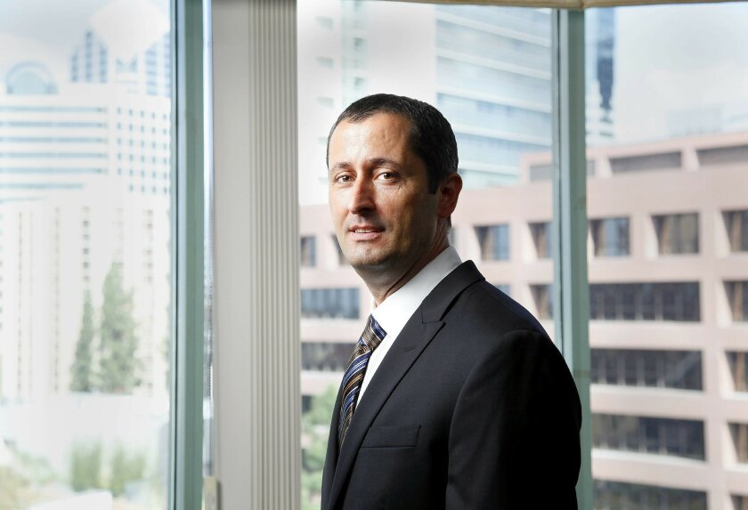 David Shaw, San Diego's newest special agent in charge of U.S. Homeland Security Investigations