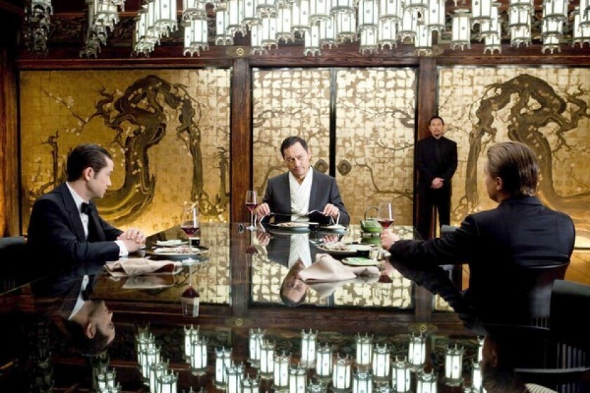 """Among the biggest American hits in China in recent years was Legendary's 2010 science-fiction thriller """"Inception."""""""