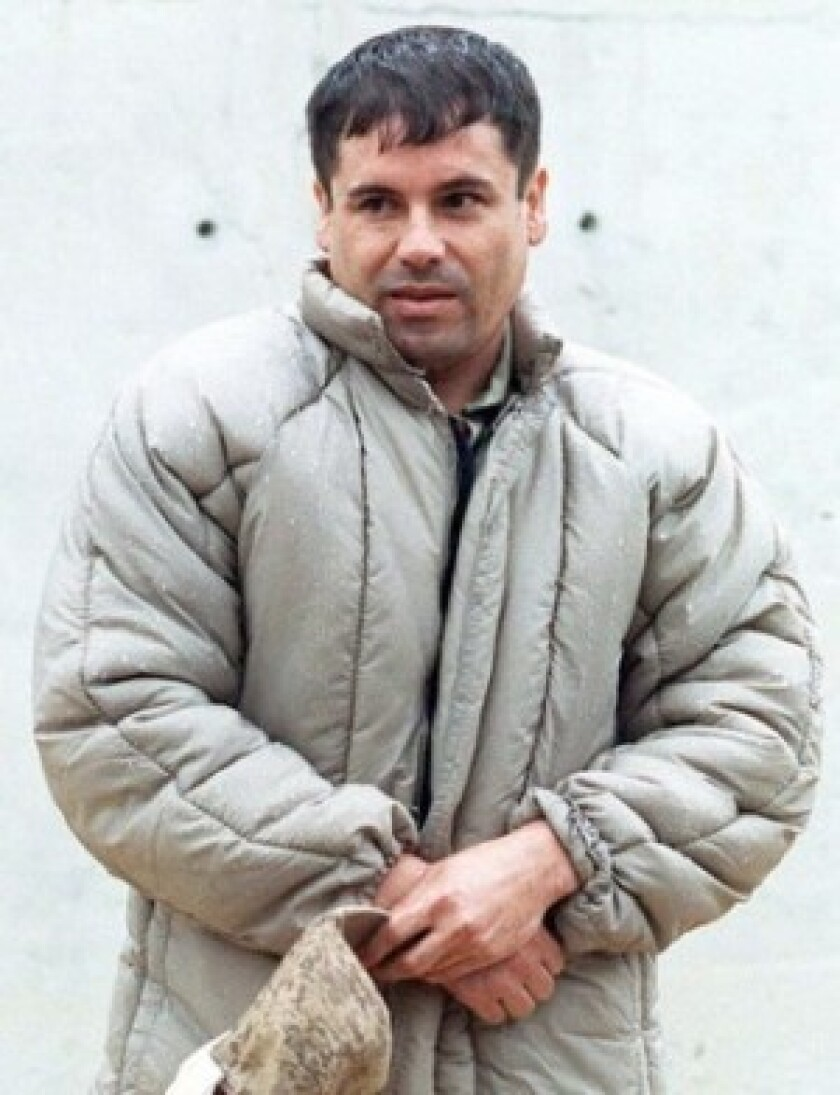 Joaquin Guzman Loera, above, is the convicted head of a Mexican drug cartel. Guzman Loera, who ranked on the Forbes annual rich list with $1 billion derived from cocaine trafficking, according to authorities, has also made the 2009 Time magazine list of most influential people in the world.