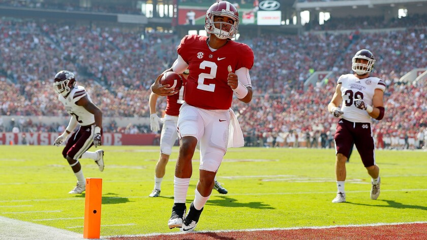 Will Alabama transfer Jalen Hurts score another Heisman Trophy win for Oklahoma this season?