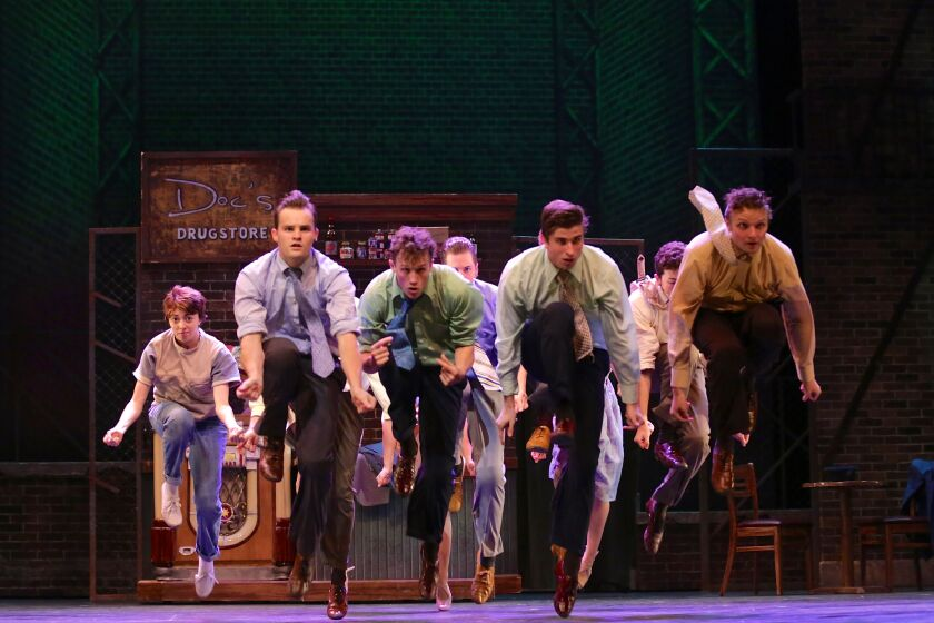 "The Jets from Moonlight Theatre's ""West Side Story"""