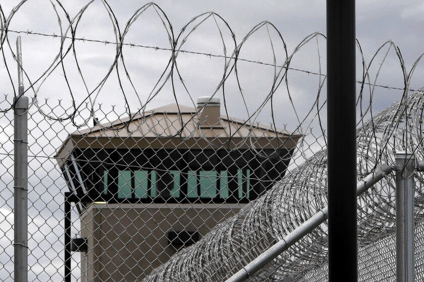 Over the last 30 years, the number of inmates in federal prison has increased by 800%. Above, the California Correctional Health Care Facility in Stockton.