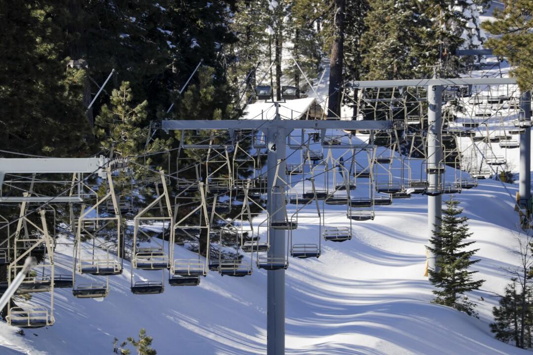 The Mountain High resort reamains closed due to the coronavirus pandemic.
