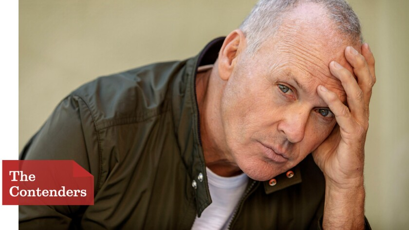 Michael Keaton plays Riggan Thomson, an actor trying to make a comeback by producing and starring in a play.